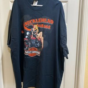 Harley Davidson Old Road, Harley T-shirt 3XL